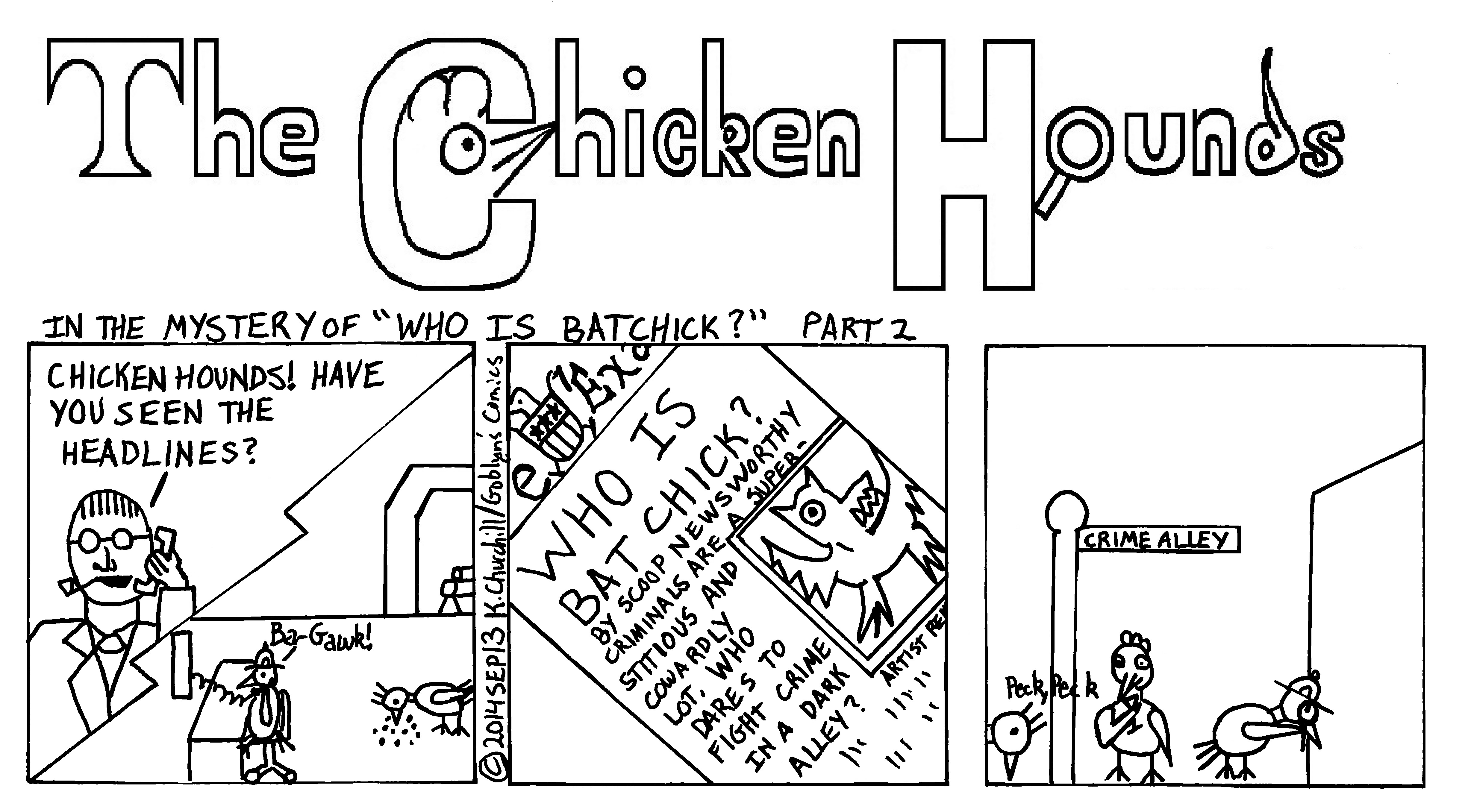 "The Chicken Hounds in the Mystery of ""Who is Batchick?"""